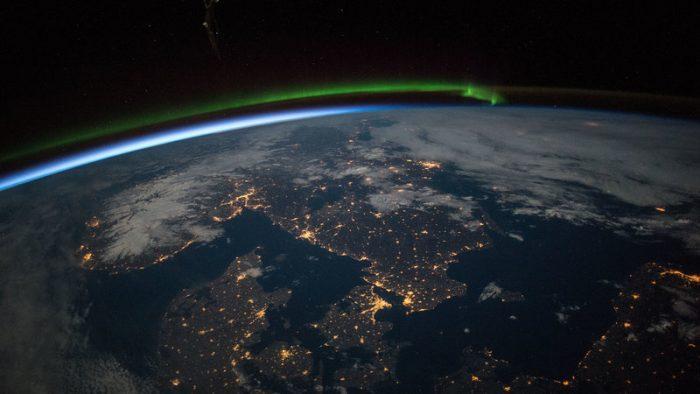 вид земли с МКС